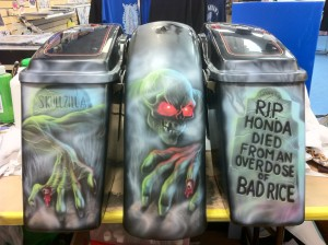 CUSTOM AIR BRUSHING ON TANKS.. AND MUCH MORE..