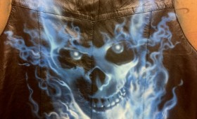 CUSTOM AIR BRUSHING VEST..