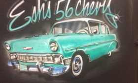 AIR BRUSH 56 CHEVY..